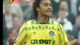 Celtic FC Timeline: Season 1990/91 - St Mirren 2-3 Celtic 29th Sept 1990