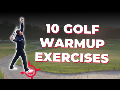 10 SIMPLE WARMUP EXERCISES FOR ALL GOLFERS -JULIAN MELLOR PROPER GOLFING