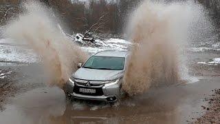 Что не так с Mitsubishi Pajero Sport 2016!? Offroad и тест-драйв!