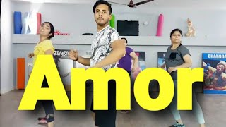 Kamelia - Amor zumba dance fitness workout choreography  by amit