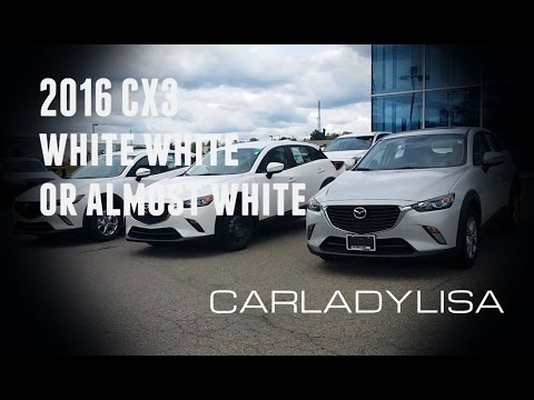 2016 Mazda Cx 3 Crystal White Arctic White Ceramic