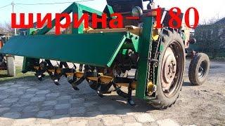 ПОЧВОФРЕЗА Т-40/подробное изготовление