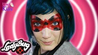 Remix Mucize Uğur Böcegi Yüz Boyama Miraculous Ladybug Face