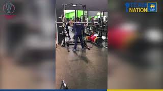 Sri Lanka World Cup team engaged in physical training