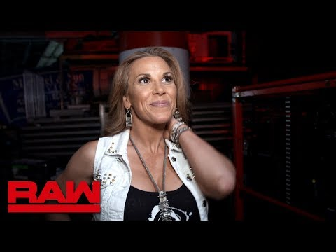 "Mickie James celebrates the release of her new single, ""I Don't Give A"": Raw Exclusive, Apr. 1, 2019"