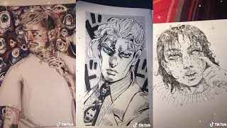 drawing & painting compilation /tiktok/