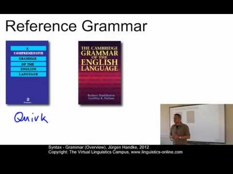 SYN103 - Grammar (Overview)