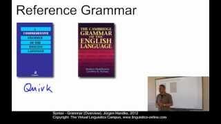 Syntax - Grammar (Overview)