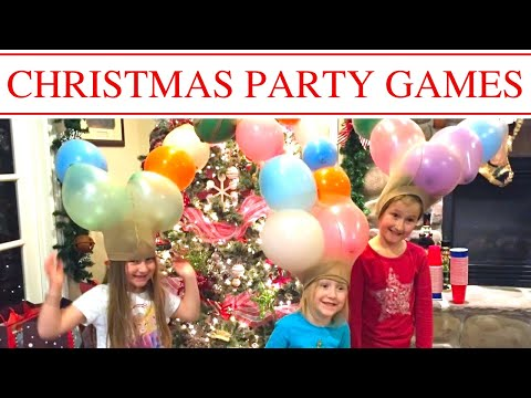 FAMILY PARTY IDEAS | HOLIDAY PARTY IDEAS | CHRISTMAS GAMES
