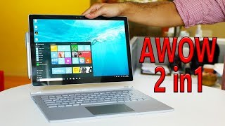 AWOW Windows 10 laptop 2 in1 Unboxing/Reiview The cheapest.... Laptop
