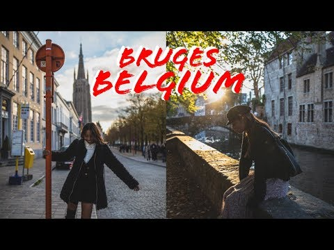 TRAVEL VLOG // in bruges, belgium.