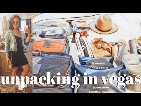 UNPACK WITH ME IN VEGAS | Ashley Hunt