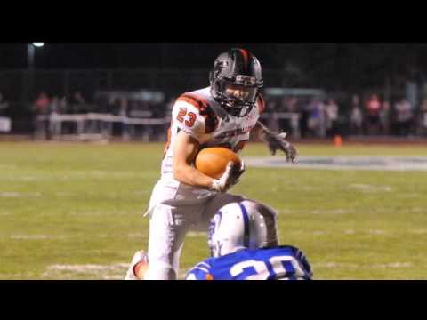 Saucon Valley's Zach Petiet talks after win over Southern Lehigh on Sept. 23, 2016