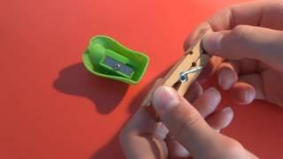 recycler un vieux taille crayon!! en 2 objets