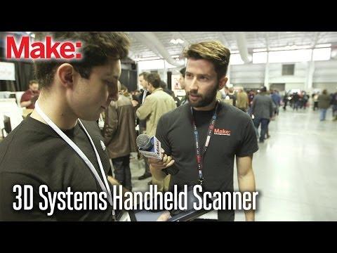 3D Systems new Sense 3D scanner