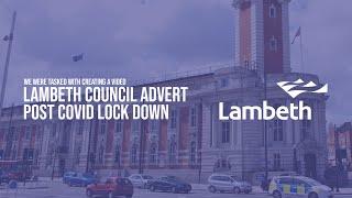 Lambeth Council Post COVID Advert