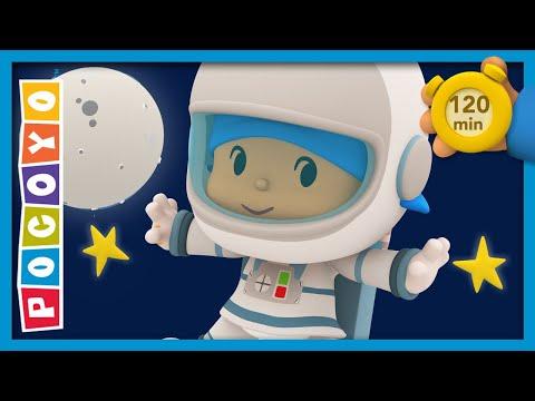 🚀 POCOYO & NINA EPISODIOS COMPLETOS - Viaje A La Luna 120 Min   CARICATURAS Y DIBUJOS ANIMADOS