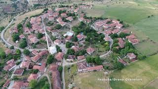 Yozgat/Çekerek Kavakalan Köyü Havadan Çekim