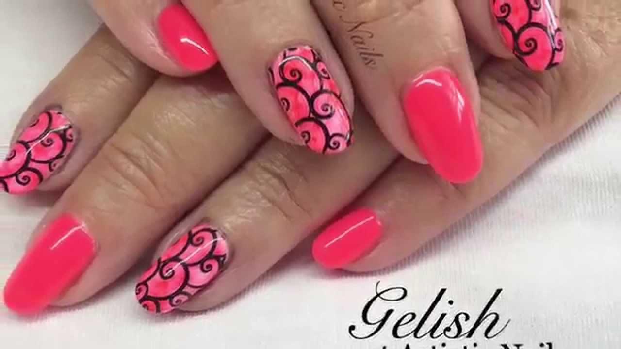 Artistic Nails Portfolio - Nail Art Tutorials - YouTube