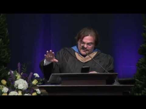 2015 Commencement Keynote Address - Jack Black - YouTube