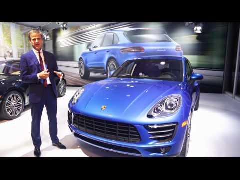 Porsche Macan: Designer Walkaround with Michael Mauer
