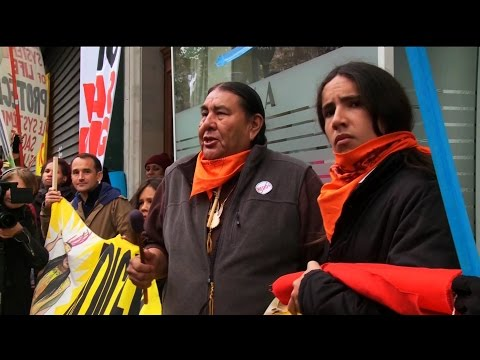 "Indigenous Climate Activists: Paris ""Police State"" is the Reality Frontline Communities Live With"