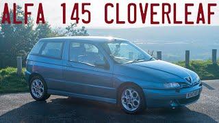 Alfa Romeo 145 Cloverleaf goes for a drive