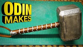 Odin Makes: Thor's hammer from Thor: Ragnarok