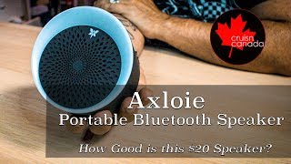 Axloie Portable Bluetooth Speaker | Review of this $20 Speaker