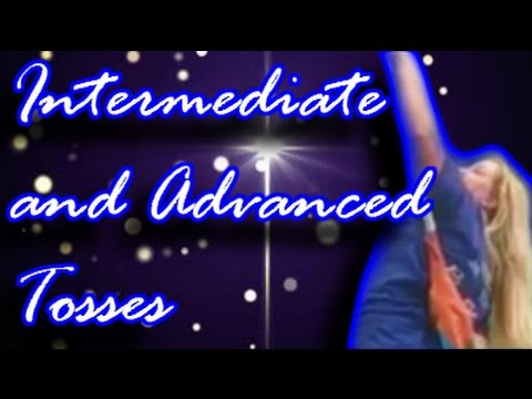 Download Intermediate and Advanced Tosses - How to color guard COLLECTION