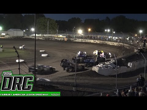 Fairbury American Legion Speedway | 9/2/17 | American Modified Series | Heats