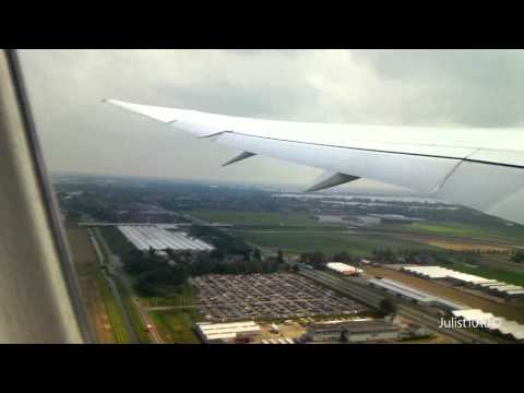 Arke(TUI) OR363 Boeing 787-8 EHAM-TNCC Take Off / Landing [HD 60fps]