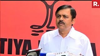 GVL Narasimha Rao Speaks Exclusively To Republic TV Over #VadraRaids