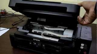 Repeat youtube video EPSON L210 INKJET PRINTER WITH INK TANK - COMPLETE REVIEW [ENGLISH]