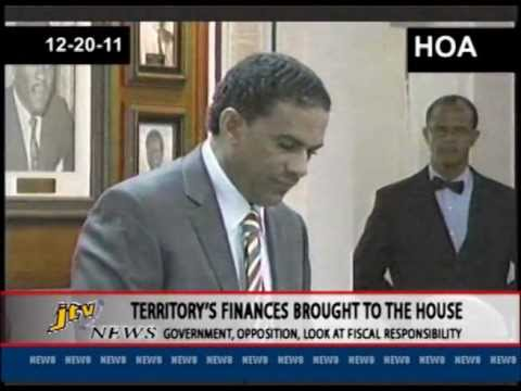 TERRITORY'S FINANCES BROUGHT TO THE HOUSE