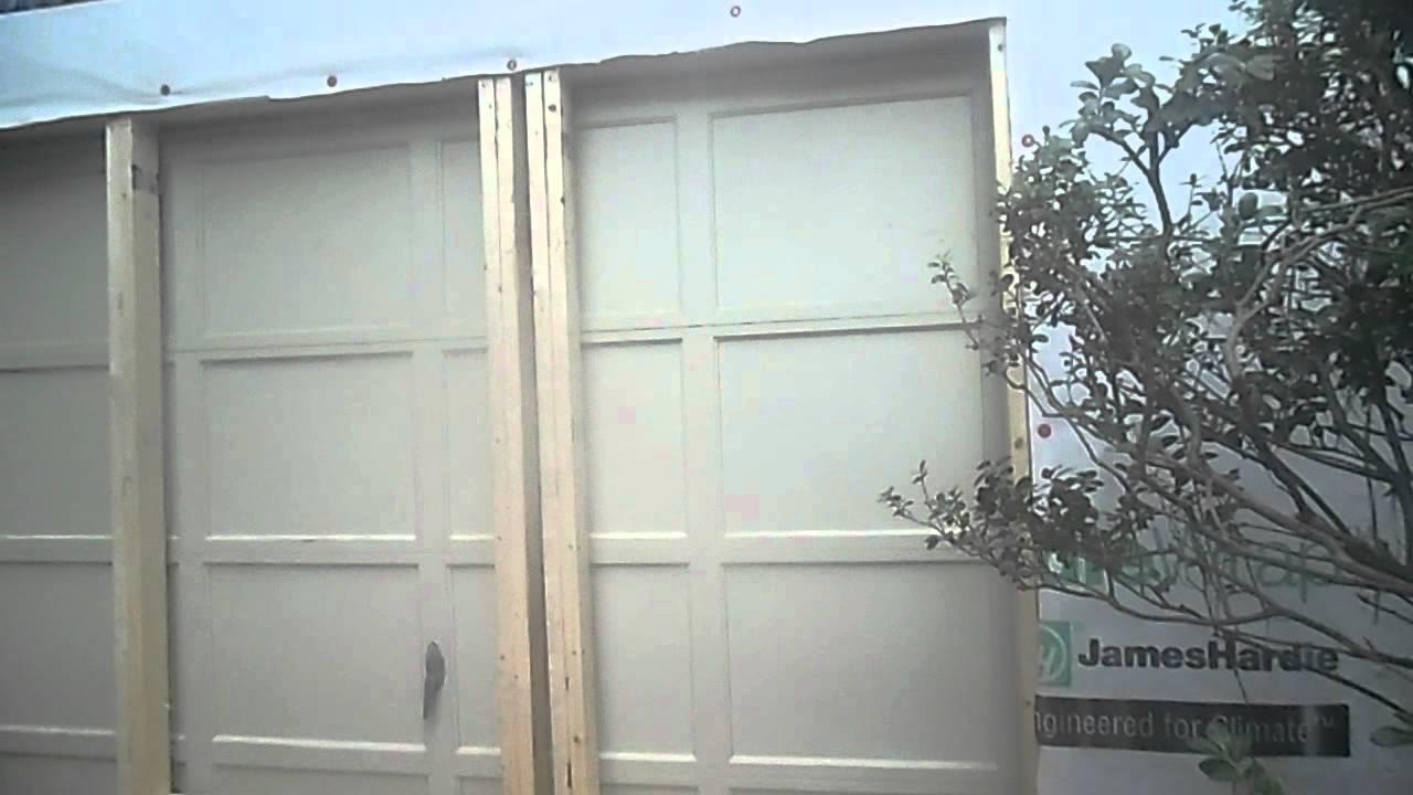 Garage Framing/Windows Rain-Go Exteriors Roofing, Siding, Exterior ...
