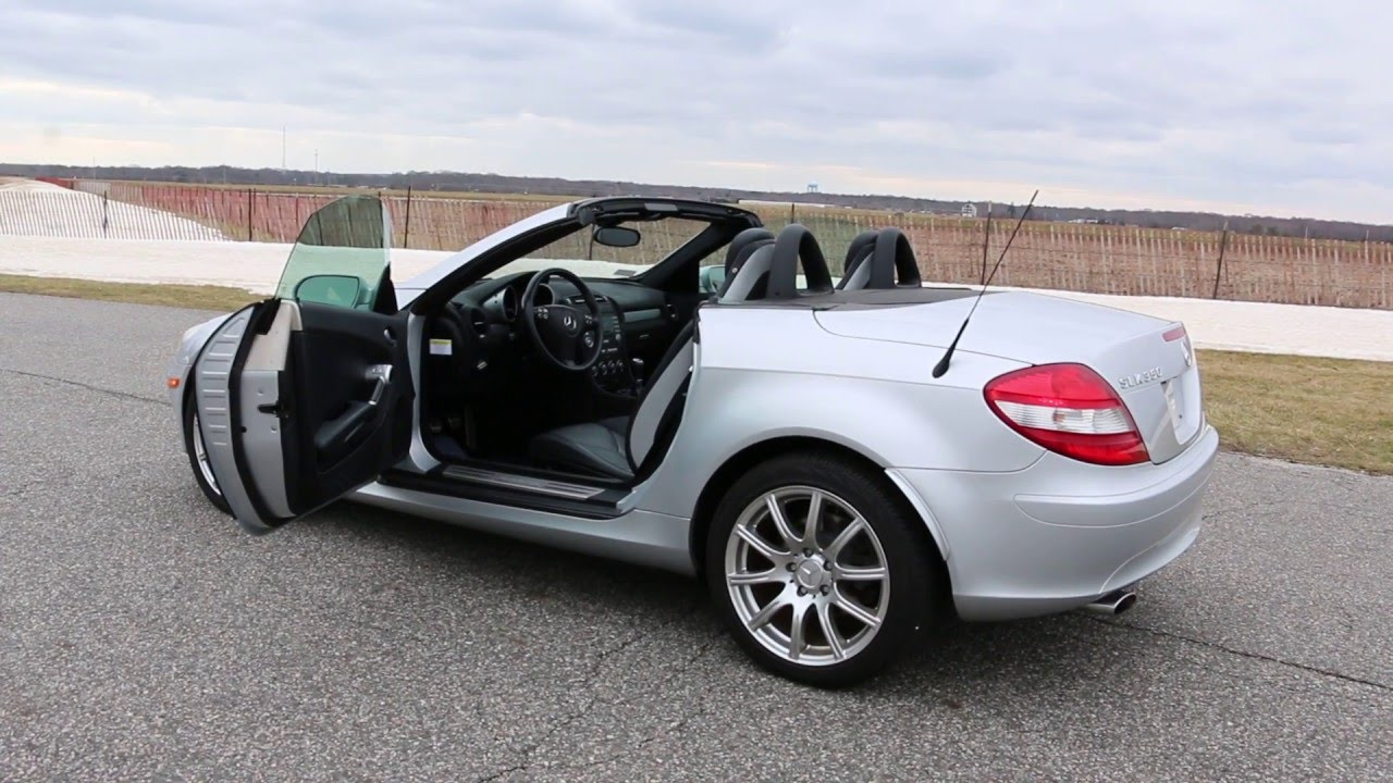2005 mercedes slk350 for sale~beautiful benz~very rare 6 speed