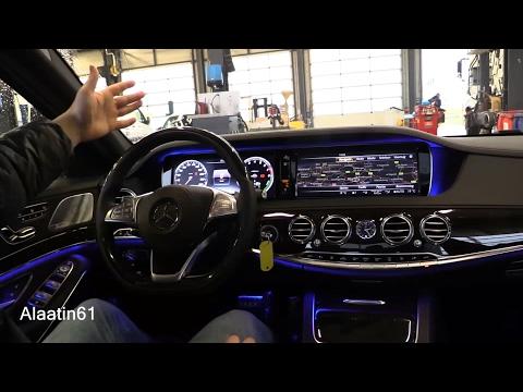 Mercedes-Benz S Class 2017 interior Review, Test Drive