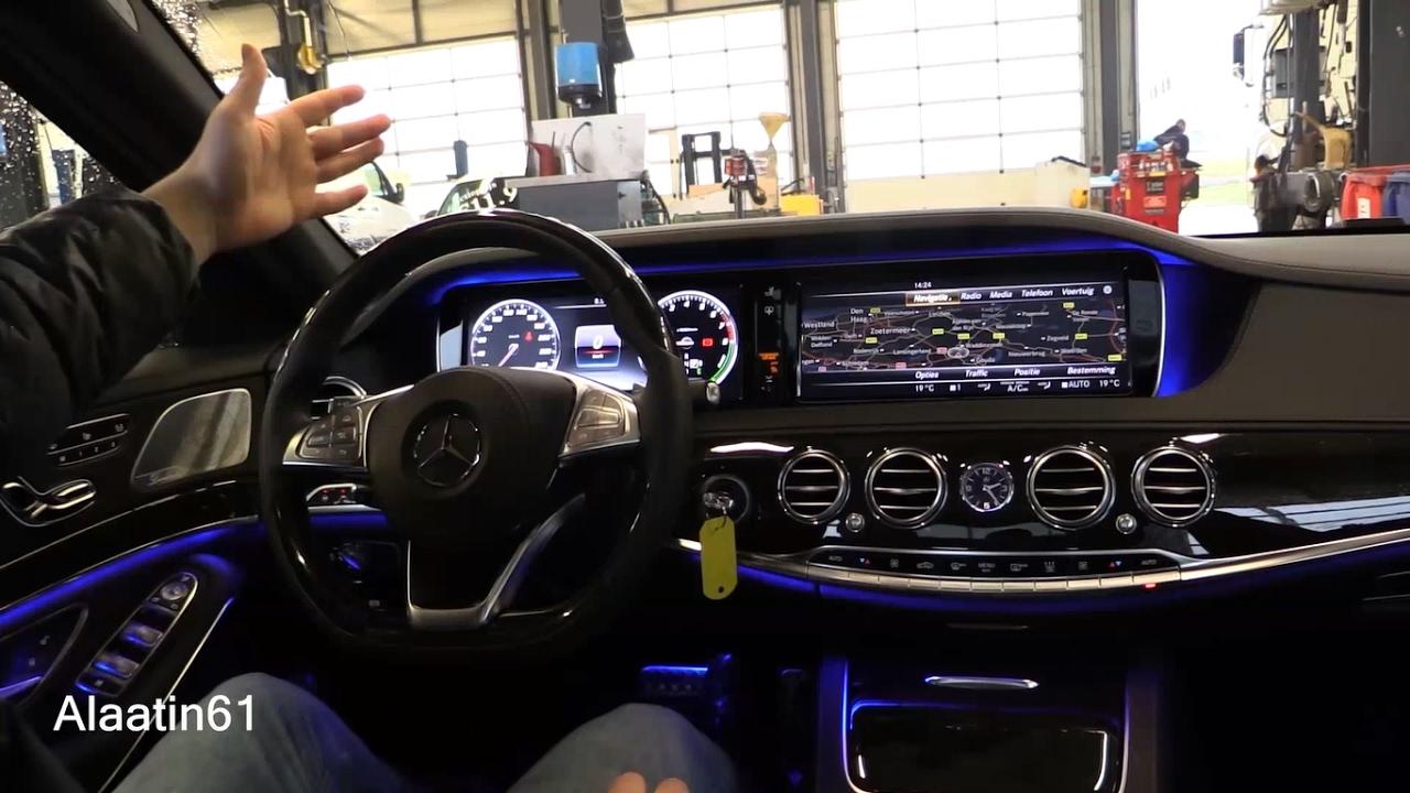 Mercedes benz s class 2017 interior review test drive for Mercedes s klasse interieur