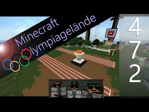 ѳ Minecraft #Olympiagelände #472 ѳ Diese Marble Stripes machen mich verrückt - 100m Hürden & Sprint