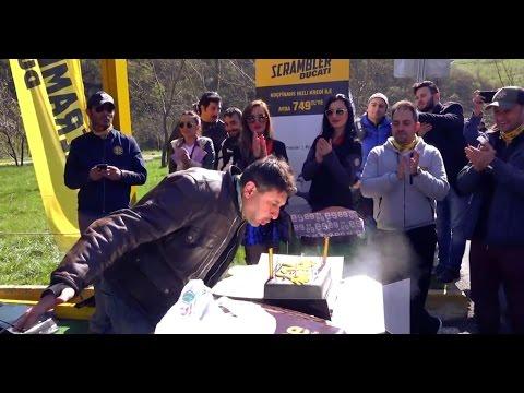 AEA Doğum Günü ve Scrambler Ducati Test Etkinliği