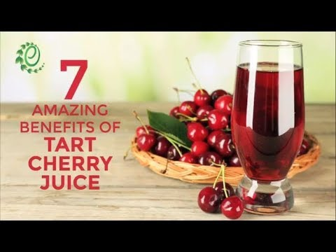 7 Amazing Benefits Of Tart Cherry Juice | Organic Facts