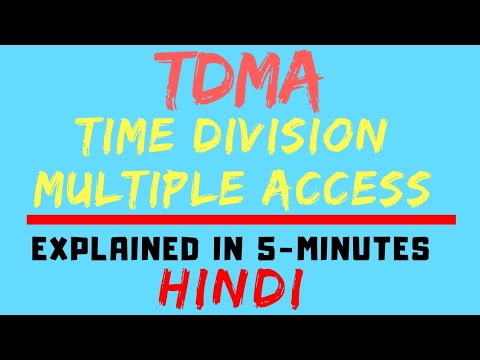 TDMA : Time Division Multiple Access (Mobile Communication /Computing) (HINDI)