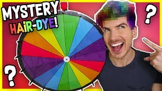 MYSTERY WHEEL OF HAIR DYE CHALLENGE!