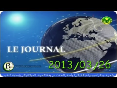 "TV de Mauritanie "" le Journal 2013-03-26"""