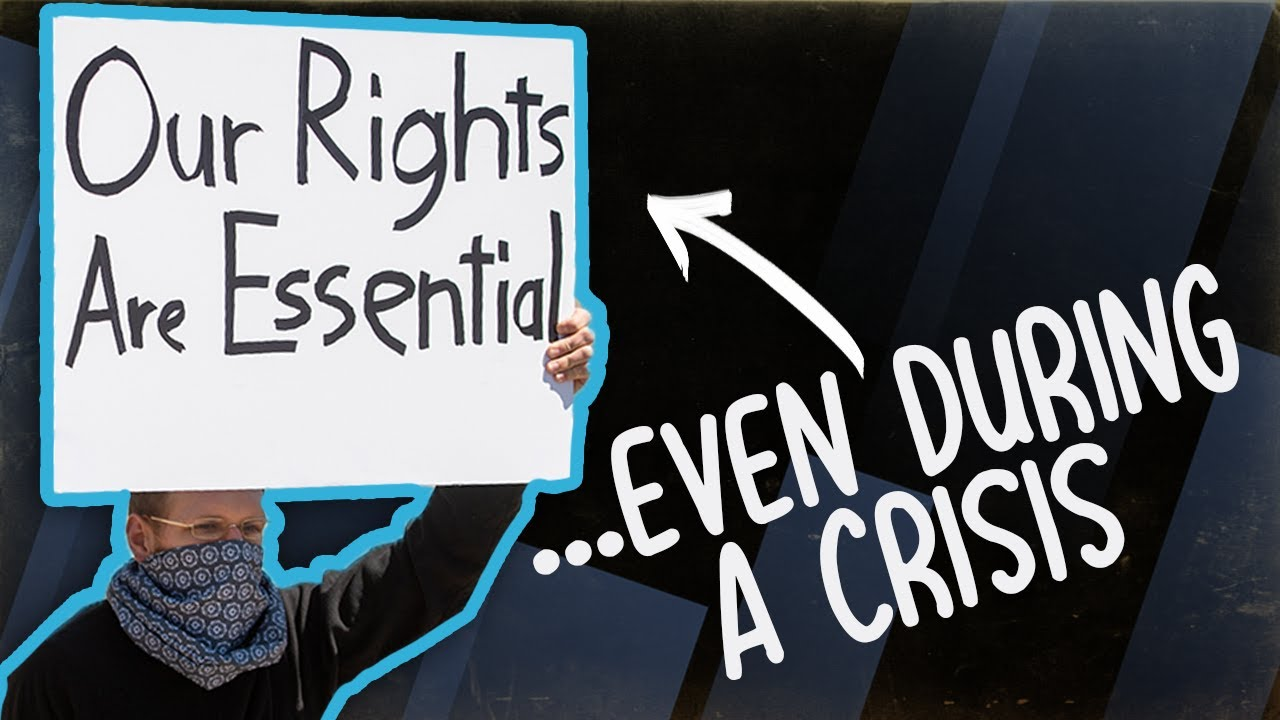 WHEN DOES IT END? Coronavirus Lockdown Resulting in LOSS OF RIGHTS & Protests to Protect Them