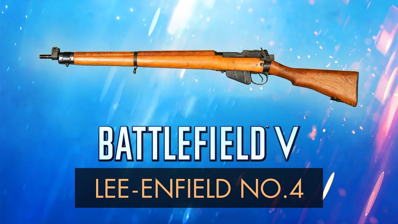 LEE ENFIELD NO.4 MKI ~ Battlefield 5 Guide + Best Specializations Setup (BF5 Gameplay)
