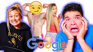 GOOGLING MY GIRLFRIEND!