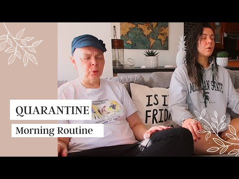 ☀OUR QUARANTINE MORNING ROUTINE☀ + Recipe To The Cancer Fighting Elixir