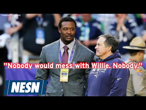 Willie McGinest On Patriots Hall Of Fame Induction